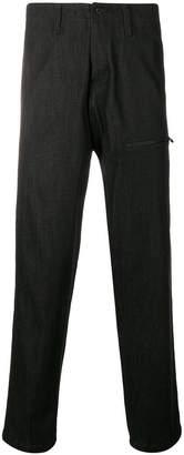 Yohji Yamamoto loose fit tapered trousers
