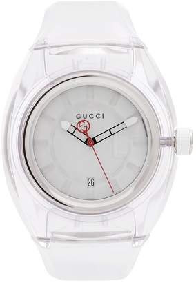 Gucci Sync rubber watch