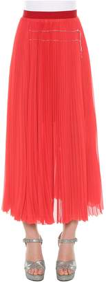 Aviu Pleated Midi Skirt