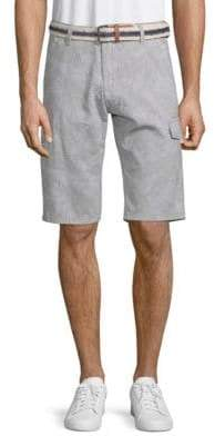 ProjekRaw Tropical Cotton Cargo Shorts