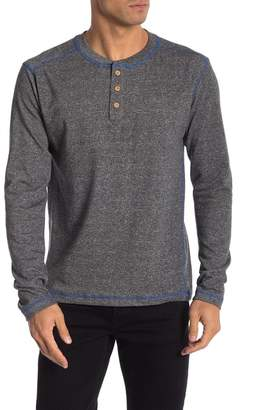 Vintage 1946 French Terry Long Sleeve Henley