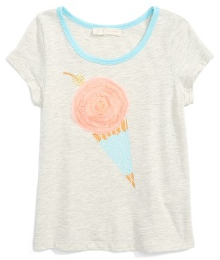 Girl's Truly Me Embellished Graphic Tee $26 thestylecure.com