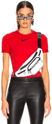 Alyx x Nike Short Sleeve Laser Tee in Red | FWRD