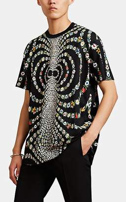 Givenchy Men's Kaleidoscope-Daisy Jersey T-Shirt - Black