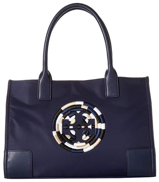 Tory Burch Ella Rope Mini Tote Tote Handbags - FRENCH NAVY - STYLE