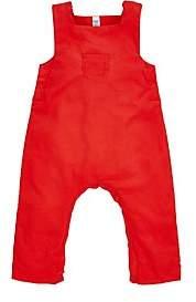 Petit Bateau Cotton Corduroy Coveralls - Red