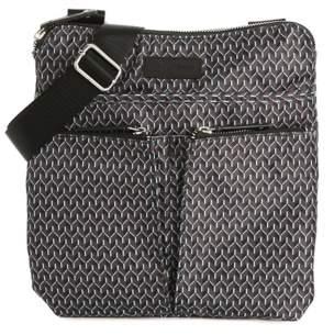 Anne Klein Sport Double Pocket Crossbody Bag