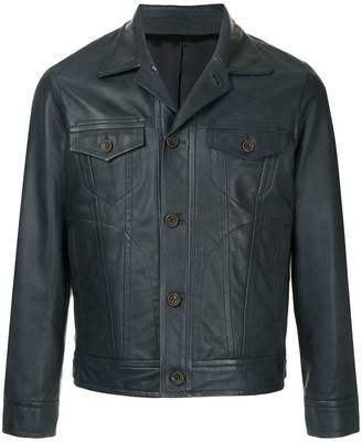 TOMORROWLAND buttoned leather jacket
