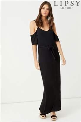 Next Lipsy Cold Shoulder Cami Maxi Dress - 4