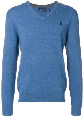 Polo Ralph Lauren (ポロ ラルフ ローレン) - Polo Ralph Lauren Vネック セーター