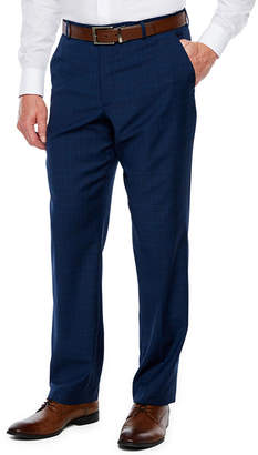 STAFFORD Stafford Plaid Stretch Classic Fit Suit Pants