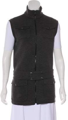 Balenciaga Sleeveless Wool Vest
