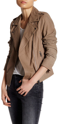 LAMARQUE Genuine Leather Kanya Jacket $545 thestylecure.com