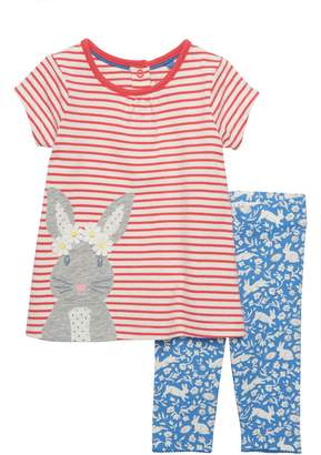 Boden Mini Farmyard Dress & Leggings Set