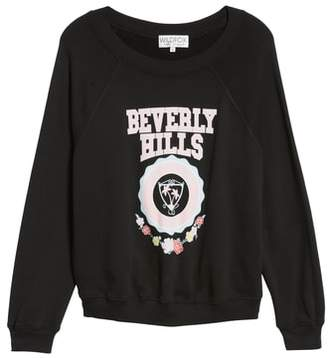 Wildfox Couture Beverly Hills Crest Sommers Sweatshirt