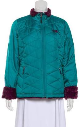 The North Face Quilted Mock Neck Jacket