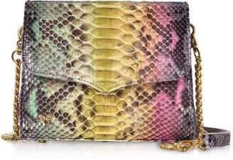 Ghibli Multicolor Python Leather Shoulder Bag