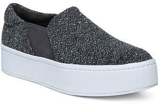 bada927177b Vince Women s Warren Round Toe Slip-On Tweed Platform Sneakers