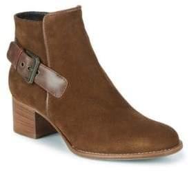 Aquatalia Tracy Suede Round Toe Boots