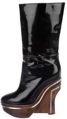 Marni Mid-Calf Platform Boots