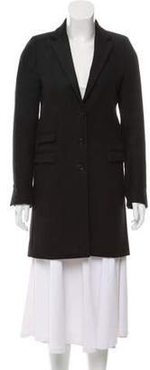 The Kooples Wool Knee-Length Coat
