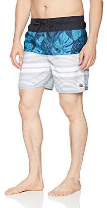Quiksilver Men's Jungle Thinking Jam Volley Swim Trunk