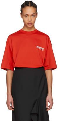 Balenciaga Red Campaign T-Shirt