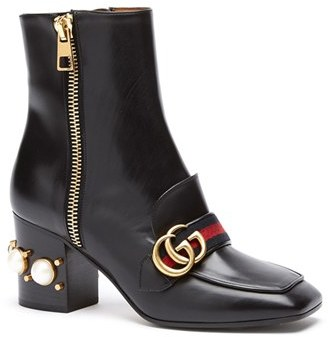 Gucci 'Peyton' Bootie $1,590 thestylecure.com