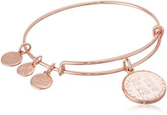 Alex and Ani Words are Powerful More Peace EWB Bangle Bracelet