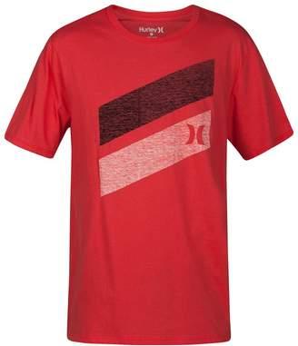 Hurley Icon Slash Push Through Short-Sleeve T-Shirt - Men's , L