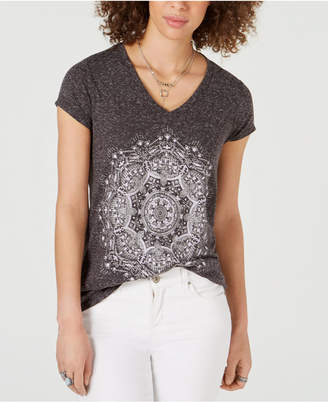 Style&Co. Style & Co Graphic-Print T-Shirt
