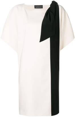 Gianluca Capannolo color blocked dress