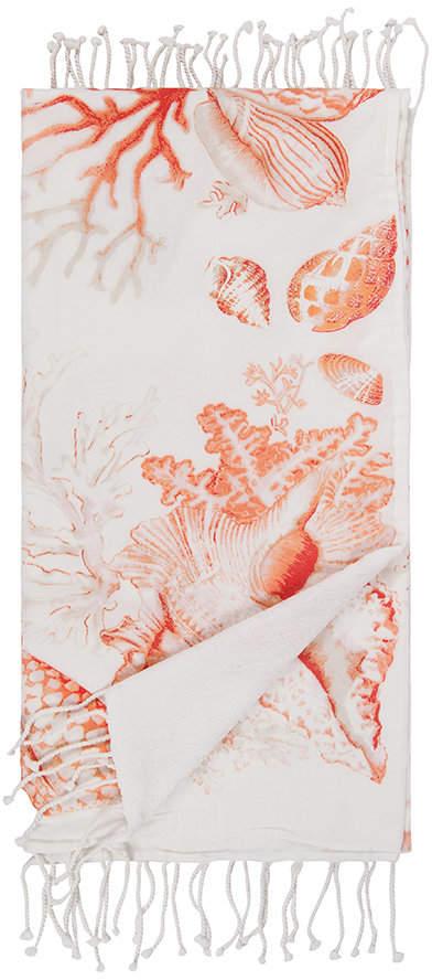 Marinette Saint Tropez - Odyssee Beach Towel - Coral