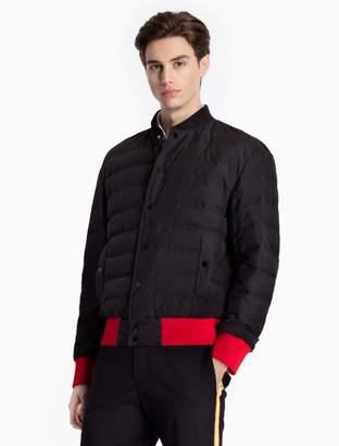Calvin Klein down contrast trim puffer jacket