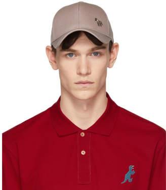 69f845cd5bf Paul Smith Grey Zebra Baseball Cap