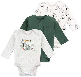 M·A·C MAC AND MOON Mac And Moon Boys 3-pc. Bodysuit-Baby