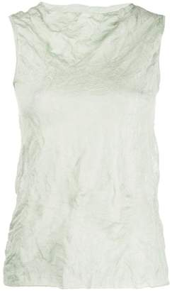 Theory crinkle effect tank top