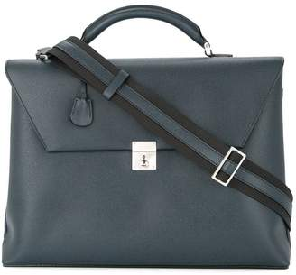 Valextra rectangular briefcase