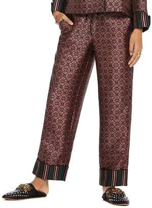 Scotch & Soda Printed Wide-Leg Pants