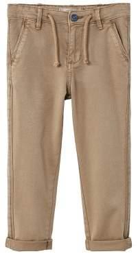 MANGO Contrast trim trousers