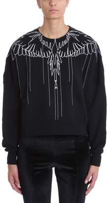 Marcelo Burlon County of Milan Black Wool Sweater