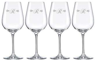 Lenox Merlot Script Tuscany Monogram Pinot Grigio 16 Oz. White Wine Glass