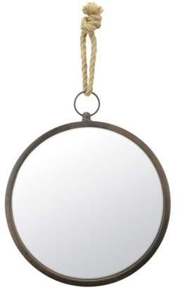 STONEBRIAR COLLECTION Medium Round Nautical Wall Mirror