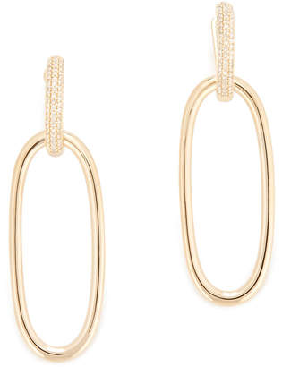 Anne Sisteron Janesse Gold Diamond Earrings