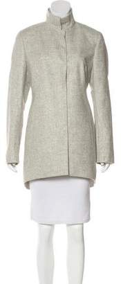 Akris Cashmere Knee-Length Coat w/ Tags