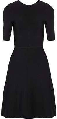 Victoria Beckham Victoria Twist-Back Stretch-Knit Dress