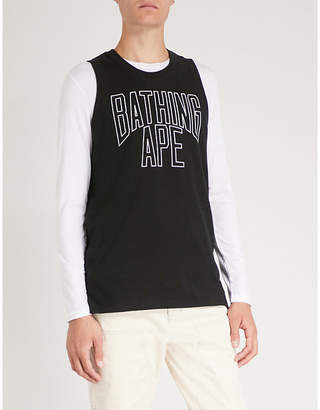 A Bathing Ape NYC cotton-jersey top