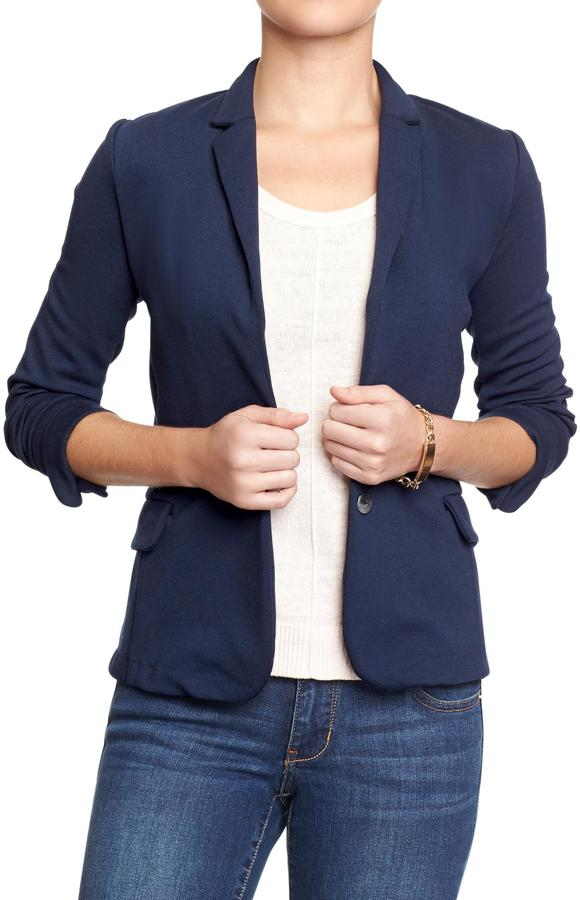 Old Navy Women's Ponte-Knit Blazers