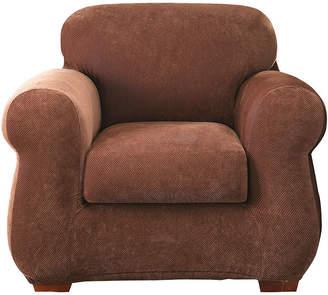 Sure Fit Stretch Piqu 3-pc. Chair Slipcover