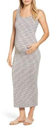 Tees by Tina Marled Maxi Maternity Dress